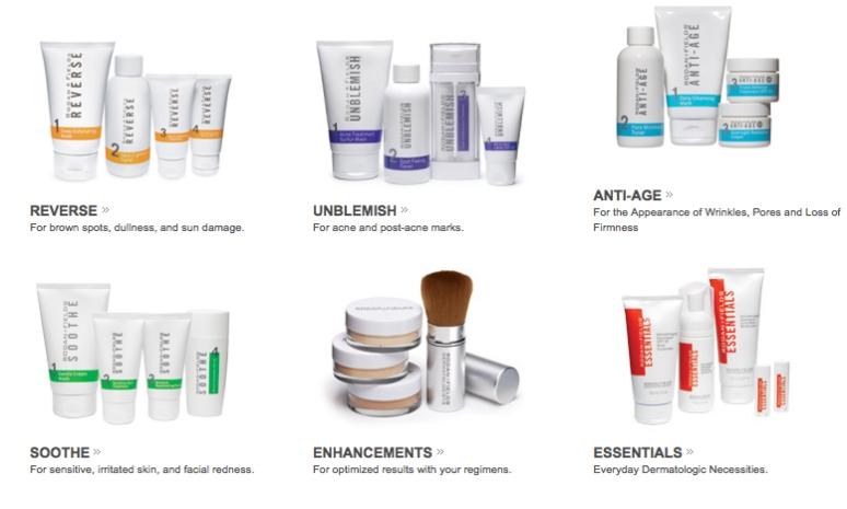 Rodan & Fields Product Lineup